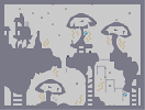 Thumbnail of the map 'Pet shrooms: Ell, Ace and Dee'