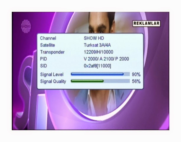 Show Hd Channel Started On Turaksat 4a 42east Dishking