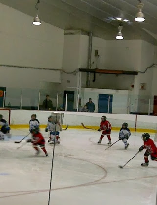 caden's hockey game 2013