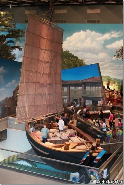 台南-國立台灣歷史博物館。唐山過台灣