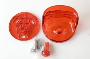Olaf von Bohr 4702 hook for Kartell, orange red reissue