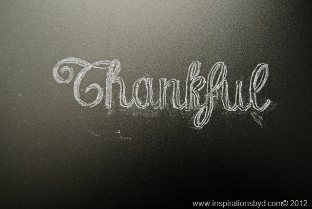 How to create Chalkboard Lettering