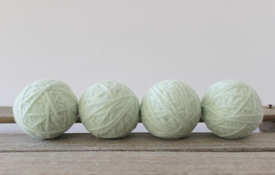 Organic Wool Dryer Balls - Simple is Pretty Shop
