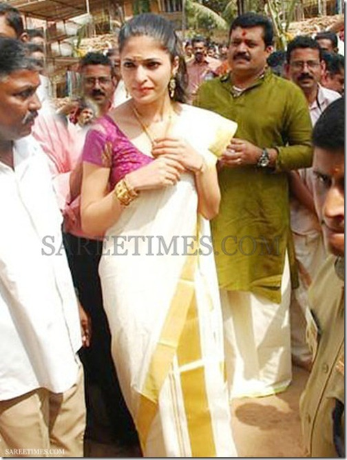 Parvathi_Omanakuttan_White_Traditional_Saree (2)