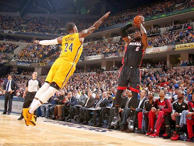 lebron james nba 140326 mia at ind 06 LeBron James Uses Safari Soldier 7s in a Loss vs. Pacers