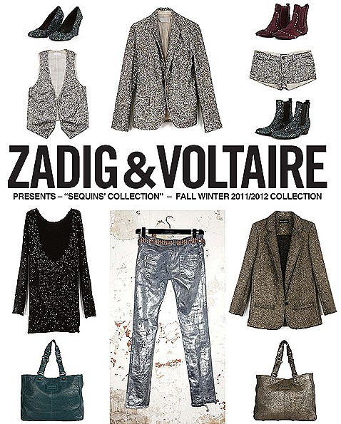 Zadig & Voltaire Fall Winter Sequins 2011 2012 Marina Bay Sands