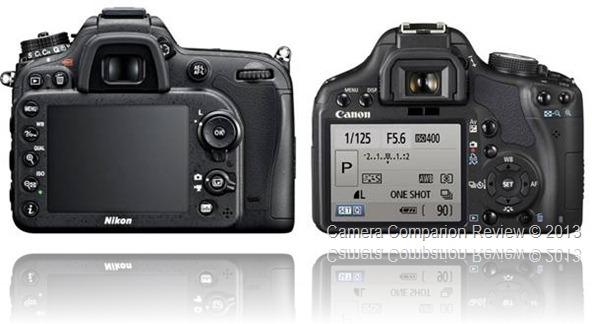 Nikon D7100 vs Canon T1i
