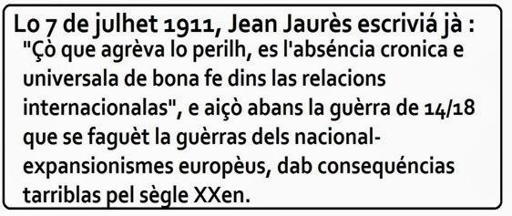 frasa d'en Jean Jaurès 7 julhet 1911