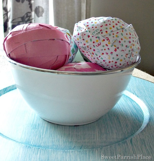 Craft Paper Easter Eggs5