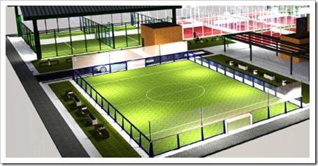 Instalaciones MOMO Sports Club La Garena futbol 3x3