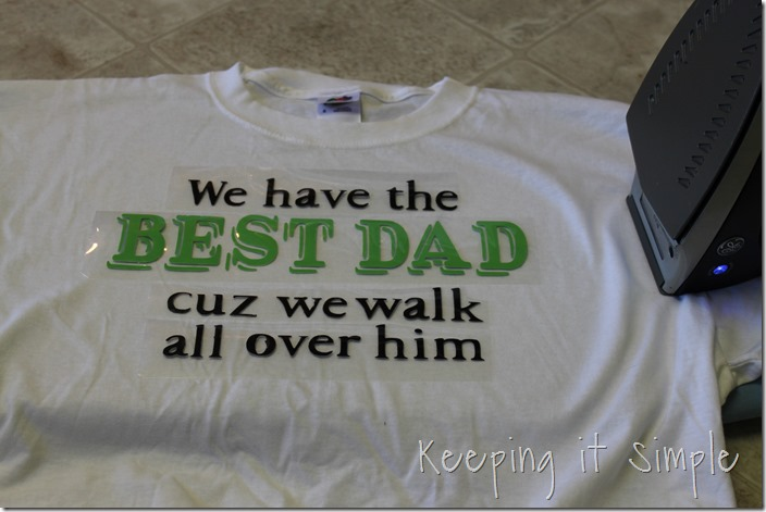 Father's Day Footprint shirt (5)