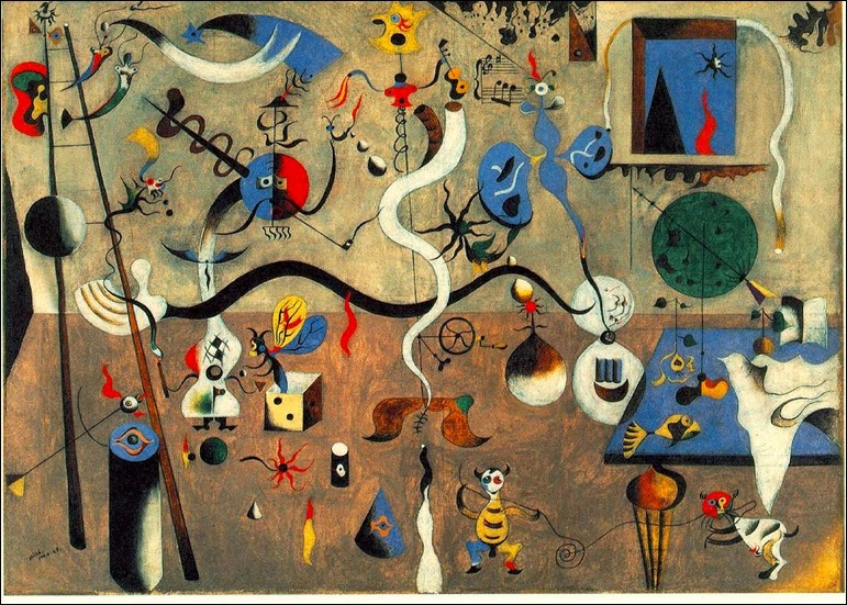 Carnival of Harlequin Joan Miro