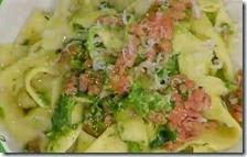 Pappardelle al cinghiale e broccoletti