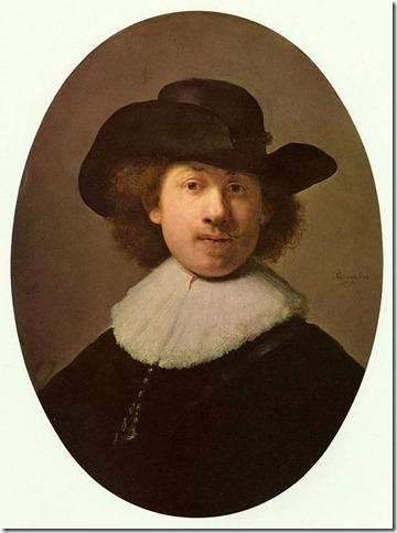 rembrandt - autoportret 1632