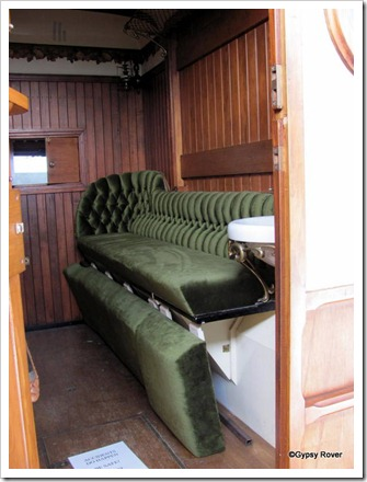 Interior of an International Gypsy Wagon.
