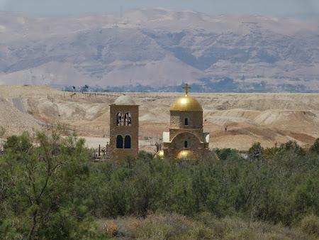 Locul botezului lui Isus Hristos: Biserica ortodoxa in Iordania