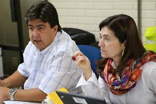 Consultor na área de Apicultura Enrique Hennings e Fátima Amazonas( Banco Mundial).1
