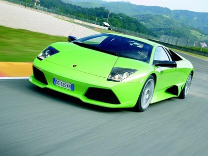 Lamborghini_Murcielago_Green