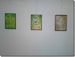 Picturi inspirate din poeziile lui Mihai Eminescu expuse in Herastrau