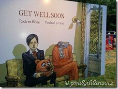 Get Well Soon Rock en Seine 2012. Artiste : Nicolas De Crécy