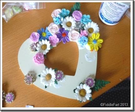 Jewelled Brides Heart 1
