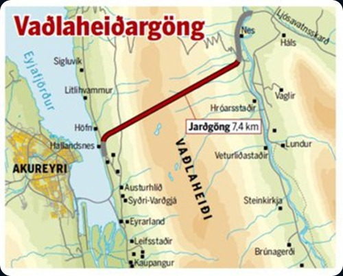 iceland Vaðlaheiðargöng
