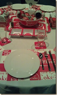 Coke tablescape 12-15-11
