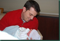 daddy and eli