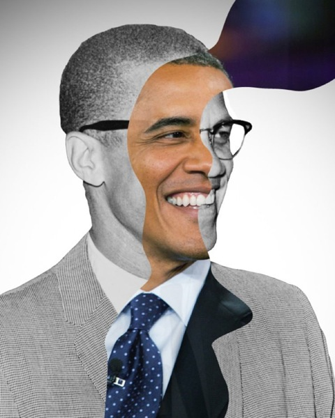 Then now obama x