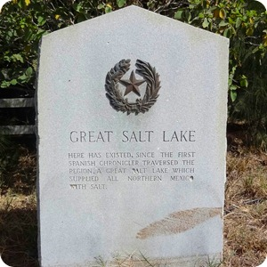 Great Salt Lake sign