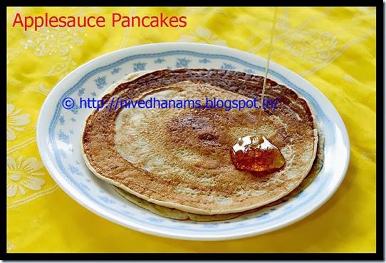 Applesauce Pancakes - IMG_3355