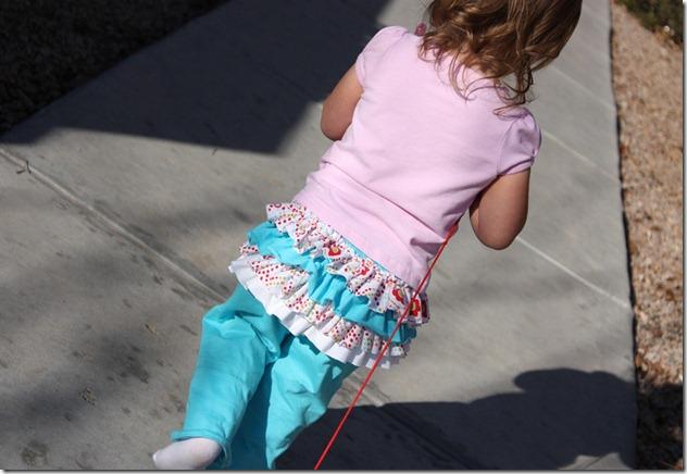 Ruffle Bum Pants