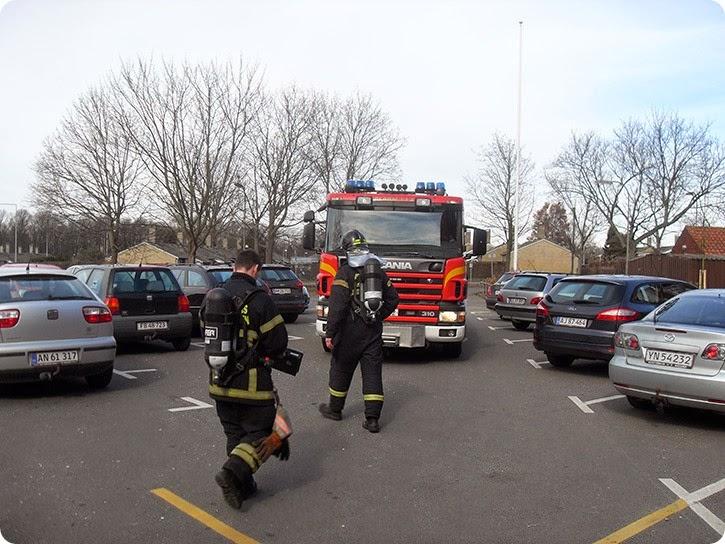 Heldigvis var der ingen brand