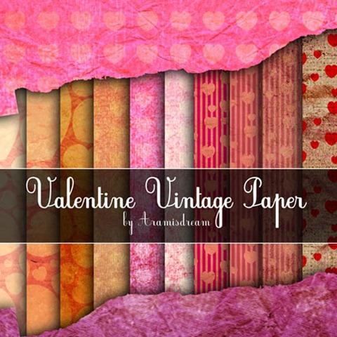 Vintage-Valentine-Paper