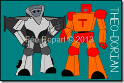 2eme proposition de carte robot inspiration transformer