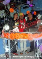 Fernando Pimenta, DJ Bob Brown e DJ Finno