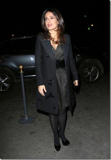 Salma Hayek Celebrities Arrive Giambattista cqDclsYCByIl