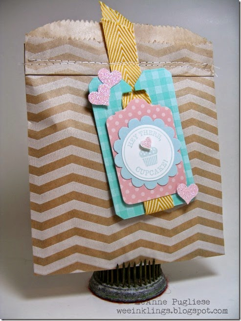 LeAnne Pugliese WeeInklings Num Num Tag Stampin Up