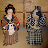 traditional punishment at Edo Wonderland in Nikko, Totigi (Tochigi) , Japan