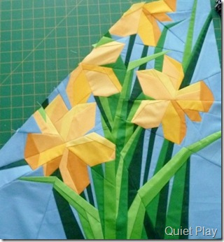Daffodils in progress
