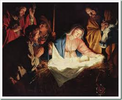 adoration of shepherds von hornthorst