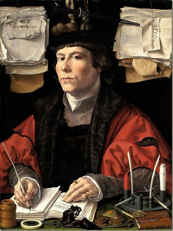 Jan Gossaert, Portrait de marchand