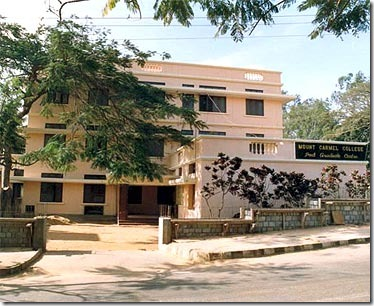 8. Mount Carmel College, Bangalore