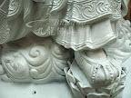 神像佛像的重新整理安金按金-慈悲地藏王菩薩整理-中間過程