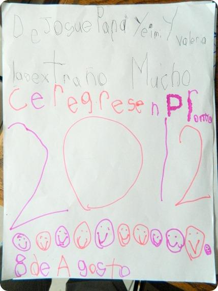 120808 Carta de JR para Yeimy y Valeria
