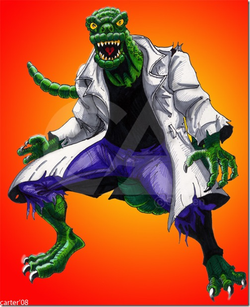 El Lagartom, Lizard,  Dr. Curt Connors (36)