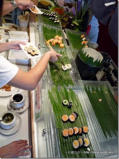 泰國曼谷-A ONE飯店自助餐-壽司