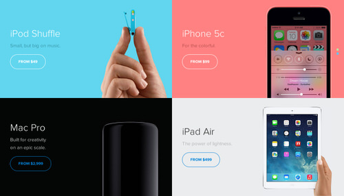 Unofficial redesign apple store1