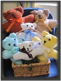 Brescia House Easter Teddy Bear Knitting Project UPDATE