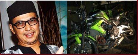 UJE - Ustad Jefry Albukhory Meninggal Kecelakaan Motor RIP
